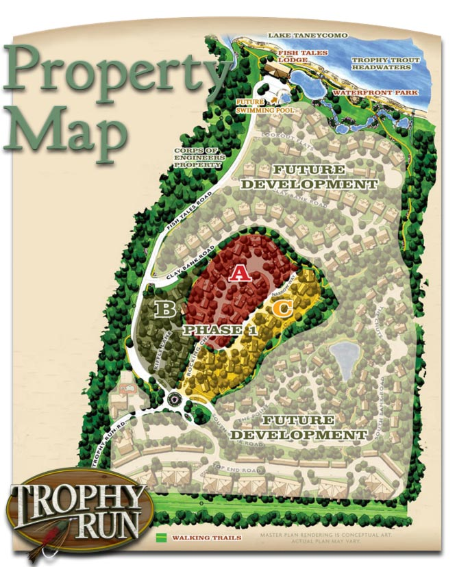 Trophy Run Property Map