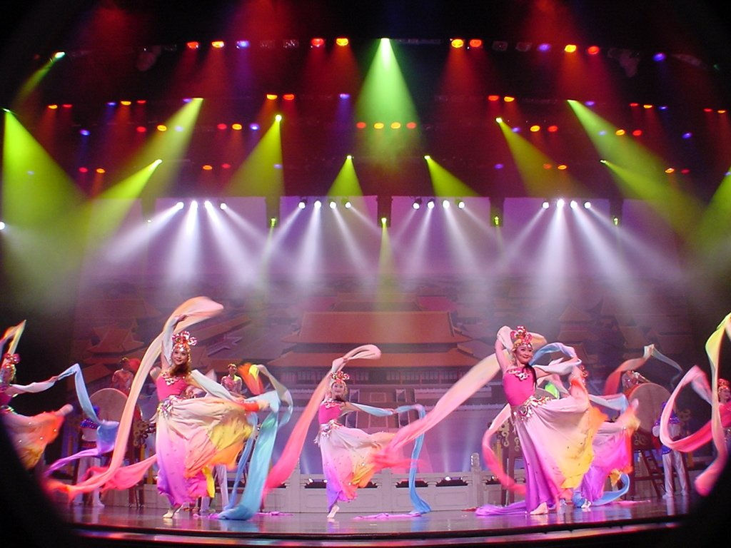 Acrobats of China Opening