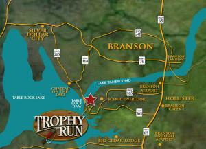 Branson Trophy Run Map