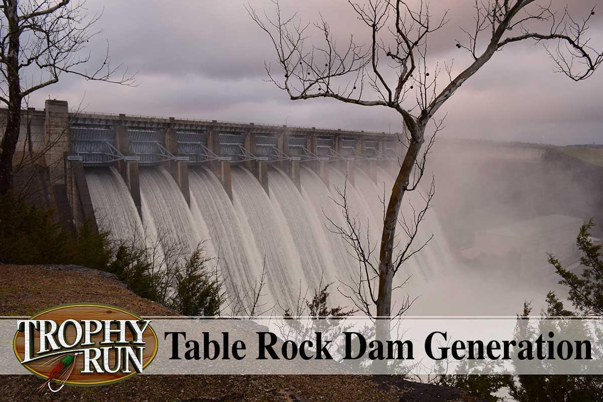 Table Rock Dam Water Generation