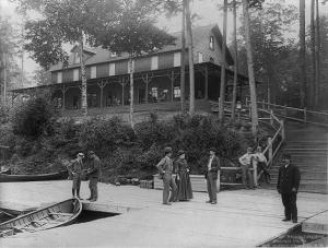 Raquette Lake Hotel - 1889 - Stoddard