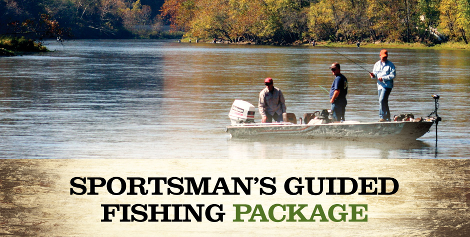 The Sportsman's Guided Fishing Package