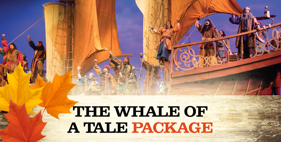 The Whale of a Tale Package