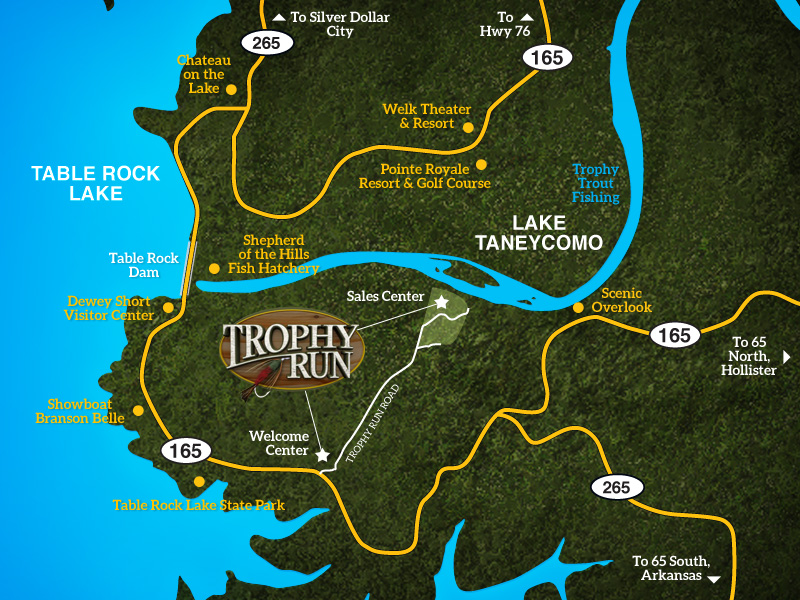 Trophy Run's Location