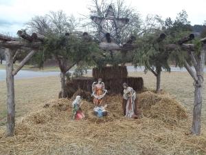 A Manger Scene - Celebrating the birth of the Christ Child.